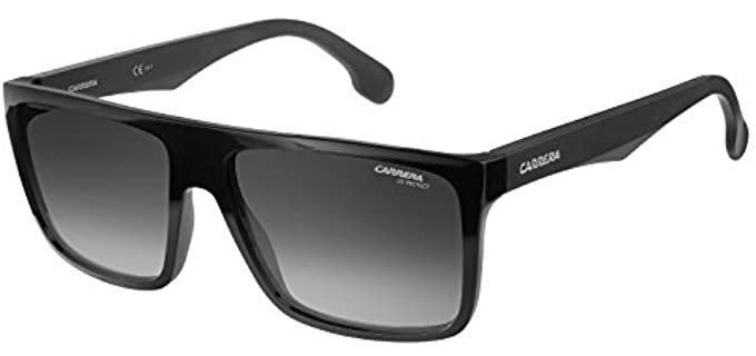 Carrera Men's Rectangular Sunglasses - Rectangular Sunglasses for Round Face
