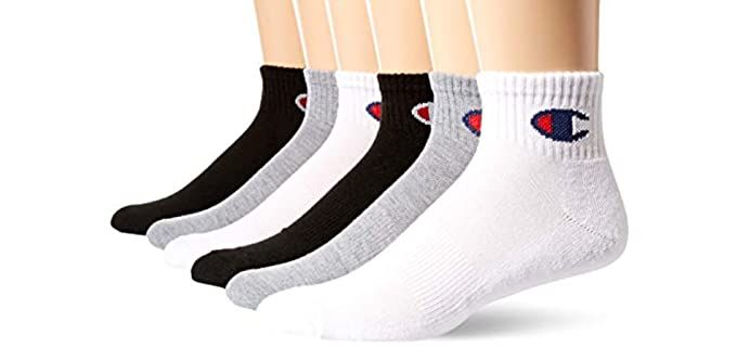 Champion Men's Double Dry - Socks for Sweaty Feet
