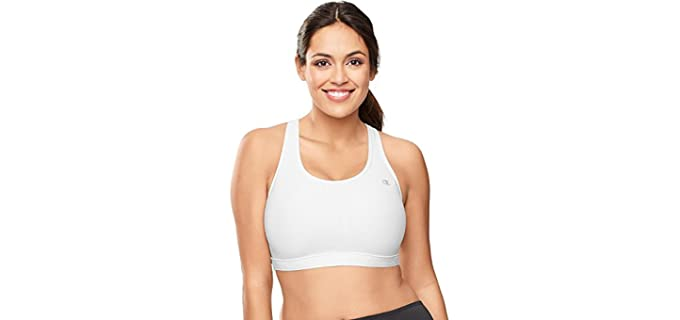 Champion Women's Plus-Sizes;Vented;Colors Available - Sports Bra for Large Breasts