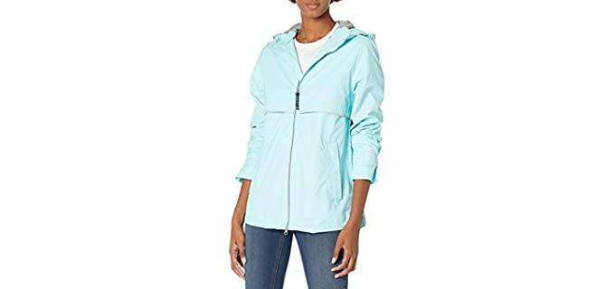 Charles River Women's New Englander - Lightweight Rain Jacket