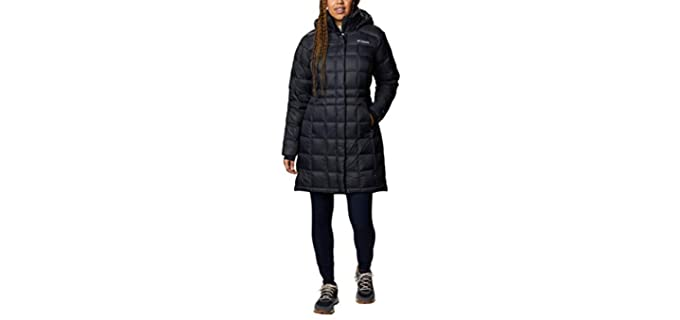 Columbia Women's Long Down Jacket - Best Cold Weather Jacket