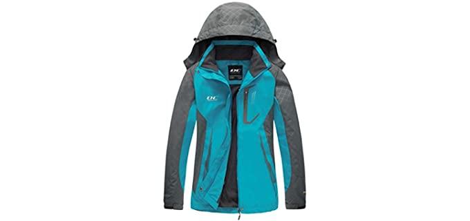 Diamond Candy Women's Rain - Lightweight Rain Jacket