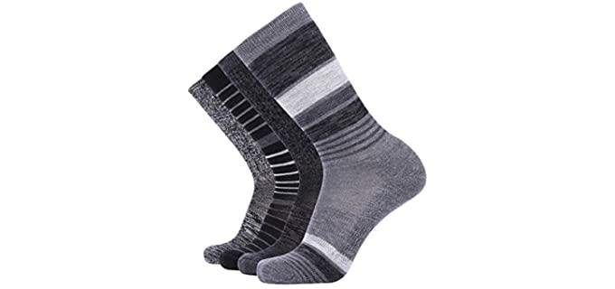 EnerWear Women's Hiking Merino Wool Socks - Best Merino Wool Socks