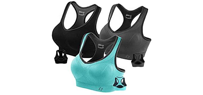 Fittin Women's Racerback - Sports Bra for Large Breasts