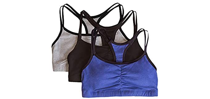Fruit of the Loom Women's Spaghetti - DD Cup Size Sports Bra
