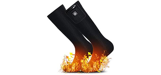 The Sun Will Unisex Foot Warmer Socks - Thermal Warm Socks