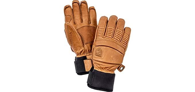 Hestra Men's Leather Winter Gloves - Best Men's Leather Gloves for Winter