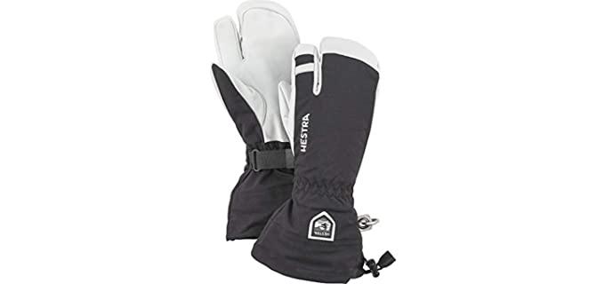 Hestra Unisex Leather Ski Gloves - Best Ski Gloves