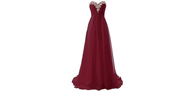JAEDEN Women's Gown - Prom Dress