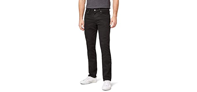 Levis Men's Slim Fit Jeans - Best Jeans Brands for Men
