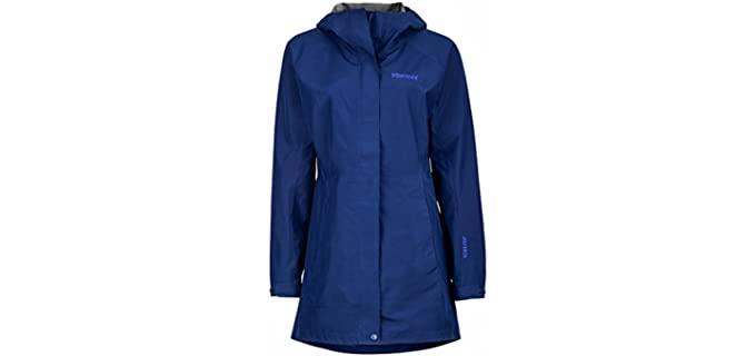Marmot Women's Lightweight Waterproof Rain Jacket - Best Lightweight Rain Jacket for Travel