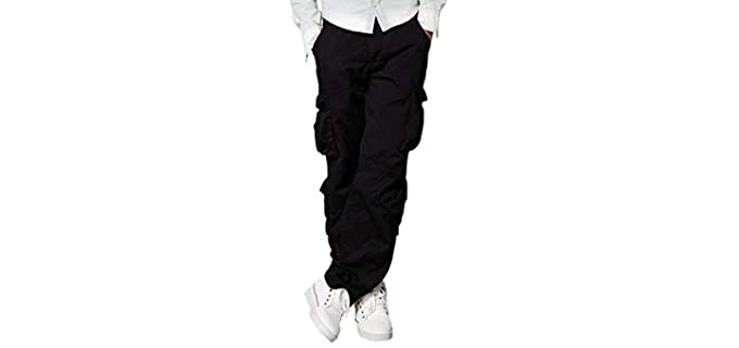 Match Men's Wild - Printed and Solid Cargo Pants