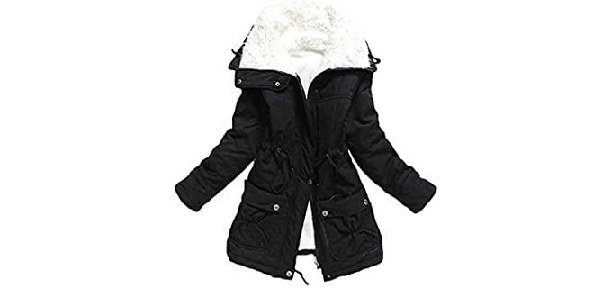 mewow Women's Winter - Winter Coat