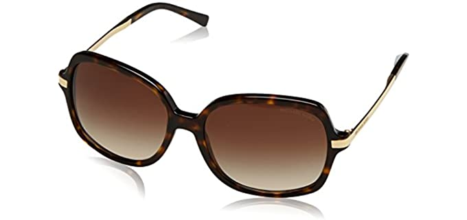 Michael Kors Unisex Brown Sunglasses - Best Sunglasses for $50