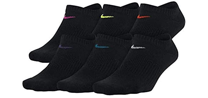 Nike Women's Nike No-Show Socks - Best Women's Moisture Wicking Socks