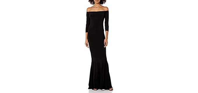 Norma Kamali Women's Fishtail Gown - Fishtail Maxi Dress