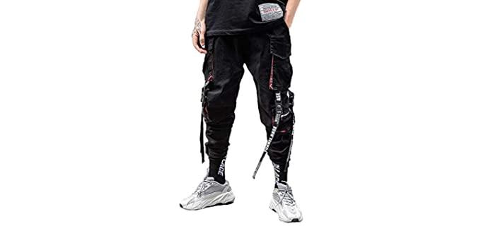 Nutriangee Men's Punk - Cargo Pant