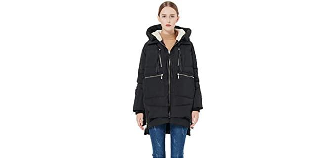 Orolay Women's Thick Coat - Best Windproof Jacket