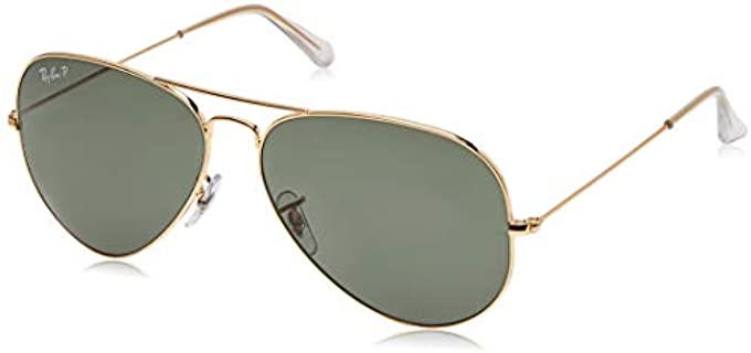 Ray-Ban Unisex Polarized Aviator Sunglasses - Best Polarized Aviator Sunglasses