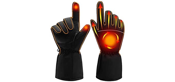 Spring Unisex Electric - Portable Heated Gloves