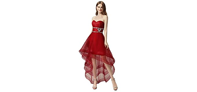 Sarabridal Women's Tulle - Quinceanera Dress