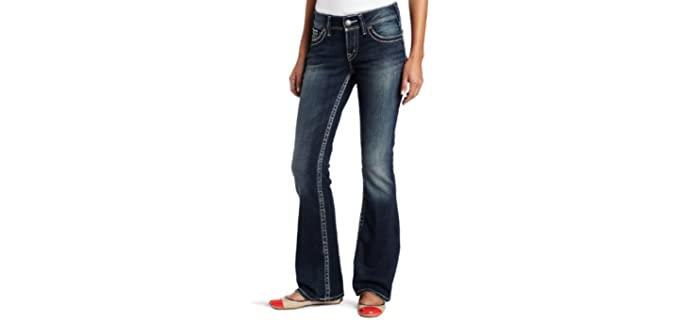 Silver Jeans Women's Silver Bootcut Jeans - Wide Jeans
