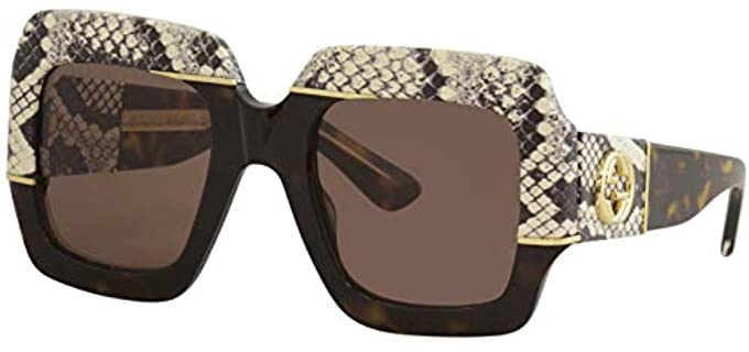 Gucci Women's Havana - Sunglasses