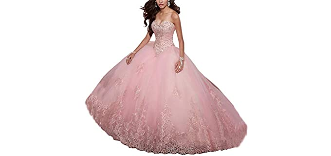 SweetBei Women's Sweet 15 Quinceanera Dress - Best Quinceanera Dress