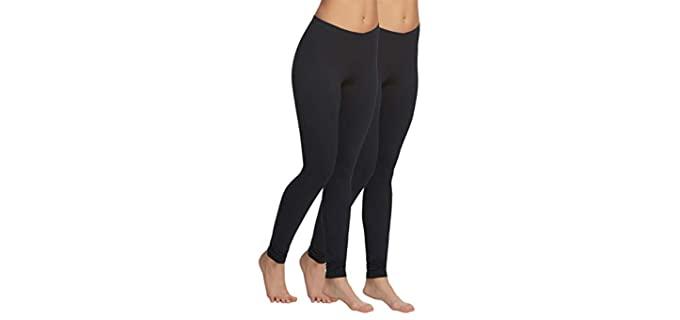 Felina Women's Velvety - Soft Black Legging