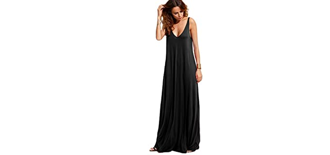 Verdusa Women's Sleeveless - Maxi Dress