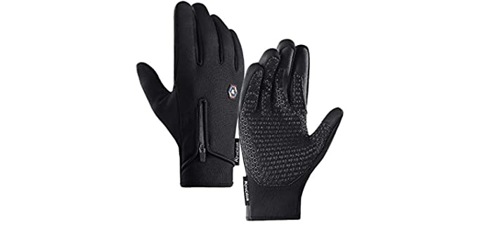 Jamont Men's Winter Gloves - Waterproof Glove