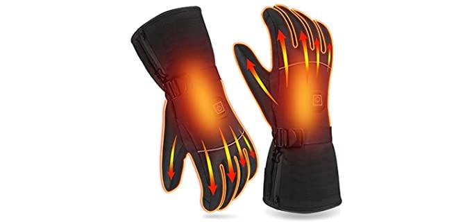 UN Unisex Winter - Waterproof Heated Gloves