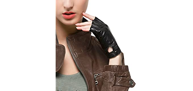Nappaglo Women's Nappa - Leather Driving Gloves