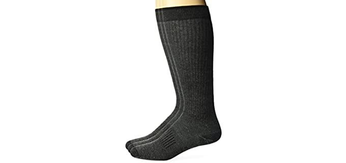 Wrangler Men's Ultra-Dri - Lightweight Socks for Sweaty Feet