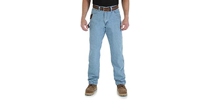 Wrangler Men's Workwear Jeans - Best Work Jeans for Men