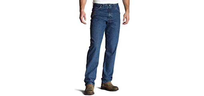 Wrangler Men's Riggs - Relaxed Fit Work Jean
