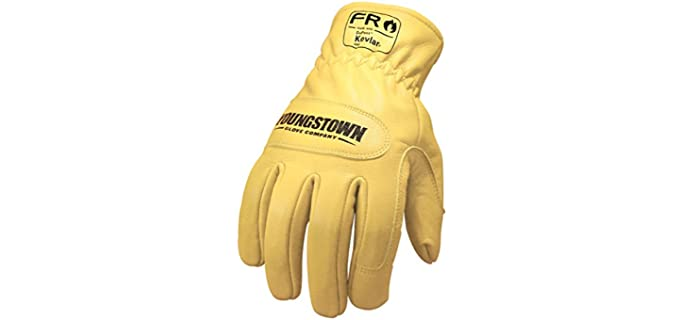 Youngstown Glove Company Store Unisex Kevlar Work Gloves - Best Kevlar Work Gloves
