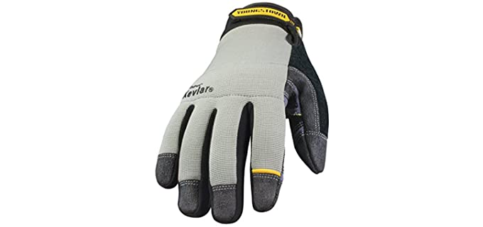 Youngstown Men's Utility - Cut Resistant Work Gloves