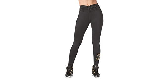 Zumba Women's Bum Enhancing Gym Leggings - Best Lifting Leggings