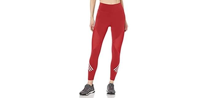 Adidas Women's High Waisted Leggings - High Waisted Gym Leggings