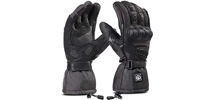 Day Wolf Unisex Waterproof Gloves Cycling - Motorcycle, Skiing, Snowboarding Hiking Cycling Gloves