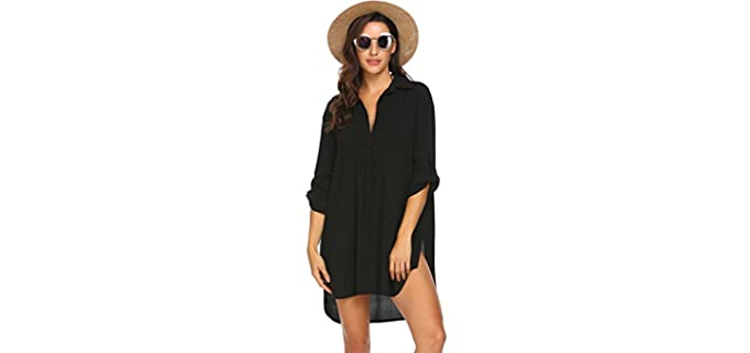 Ekouaer Women's Cover Dress - Cover Up and Dress for Beach Wear