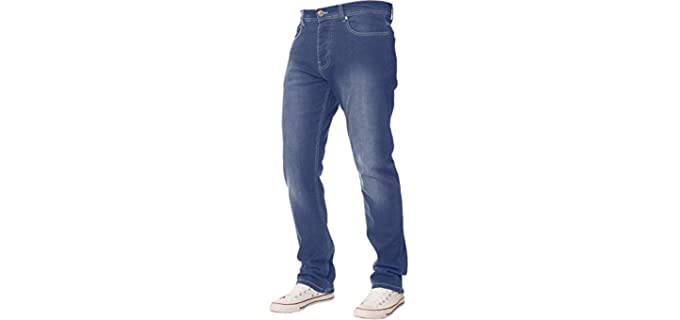 Enzo Men's Stretch - Beer Belly Jeans