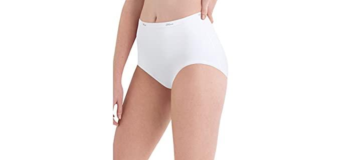 Hanes Women's Cotton - Brief Underwear for Leggings