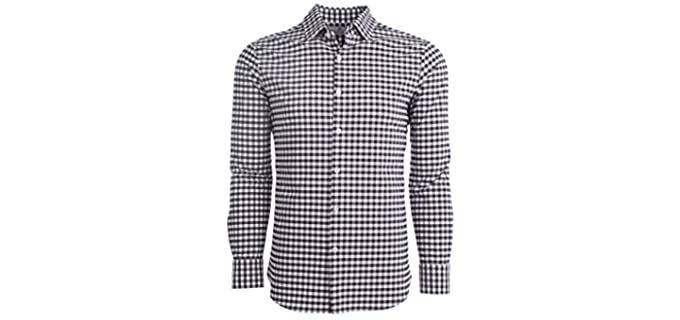 Mizzen Men's Main - Dress Shirt to Wear with Jeans