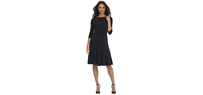 Rekucci Women's Flippy - Dinner Dates Fit and Flare Dress