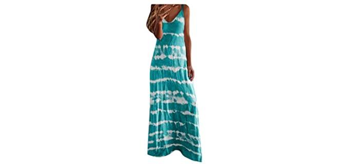 Shakumy Women's Summer - Boho Beach Dress