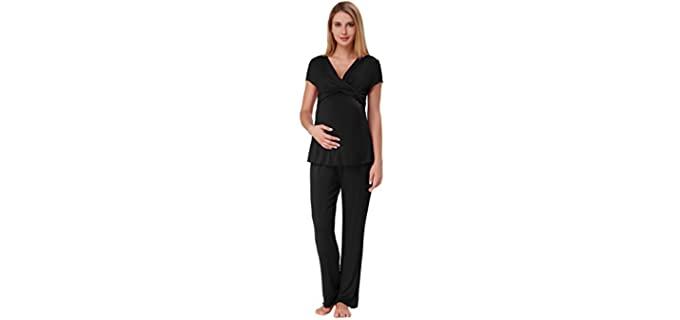 Zexxxy Women's Ultra Soft - Pajamas for Postpartum
