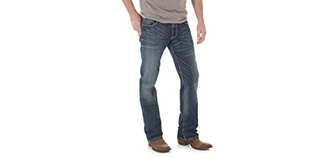 Wrangler Men's Retro Slim - Cowboy Boot Jeans