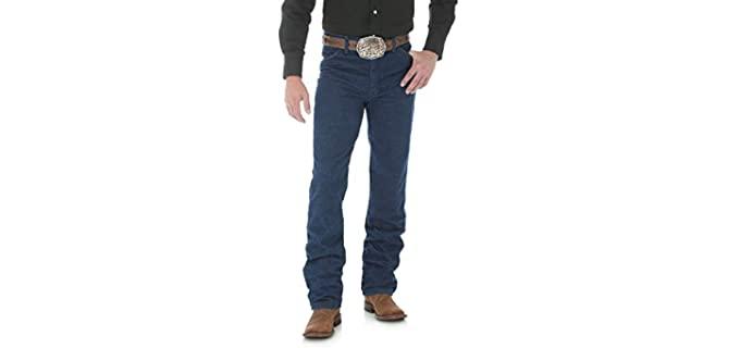 Wrangler Men's Cowboy Cut - Jeans for Cowboy Boots